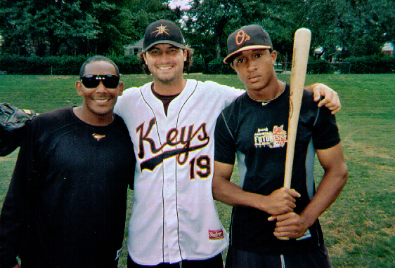 Frederick Keys - Miquel Abreu (OF), Nathan Moreau (P) and Jonathan Schoop (IF)